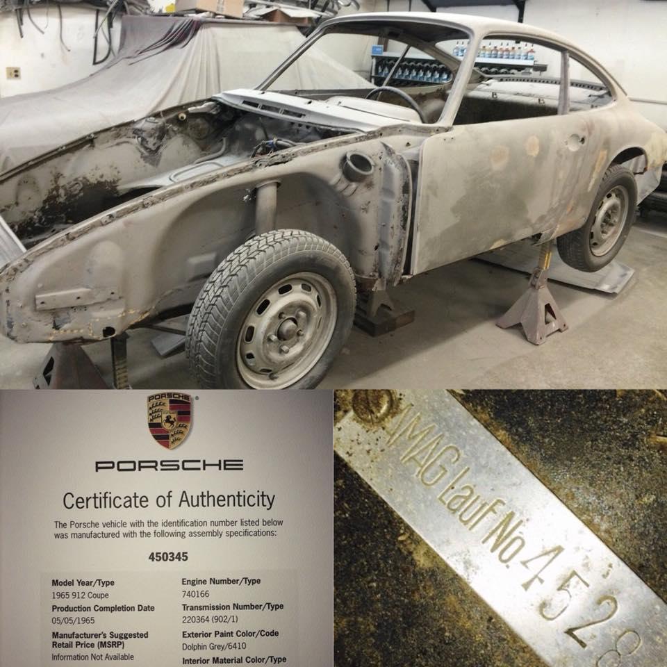 Photos de Porsche à restaurer - Page 12 29067010
