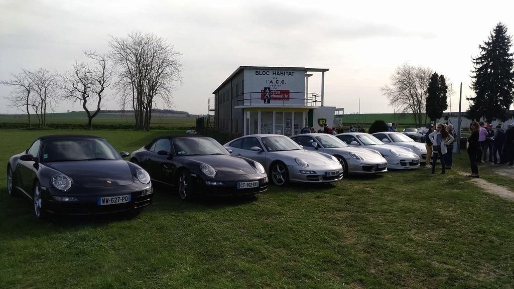 Porsche Rhônes Alpes de passage chez nous 30414510
