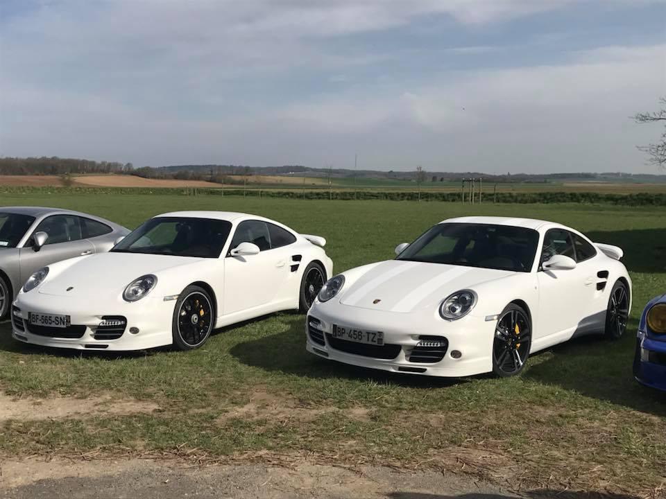 Porsche Rhônes Alpes de passage chez nous 30440910