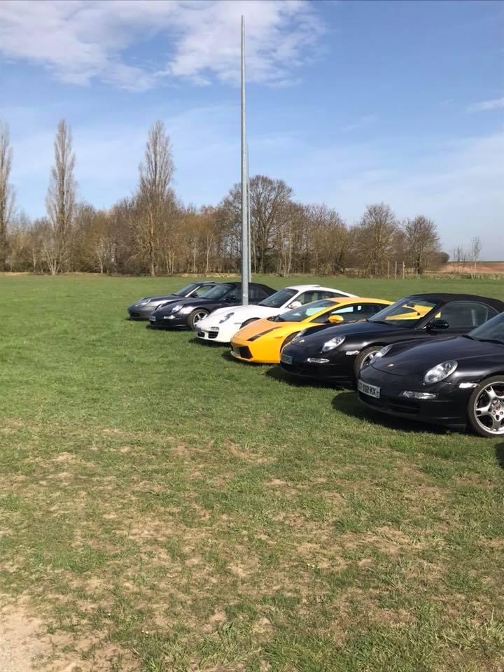Porsche Rhônes Alpes de passage chez nous 30441610