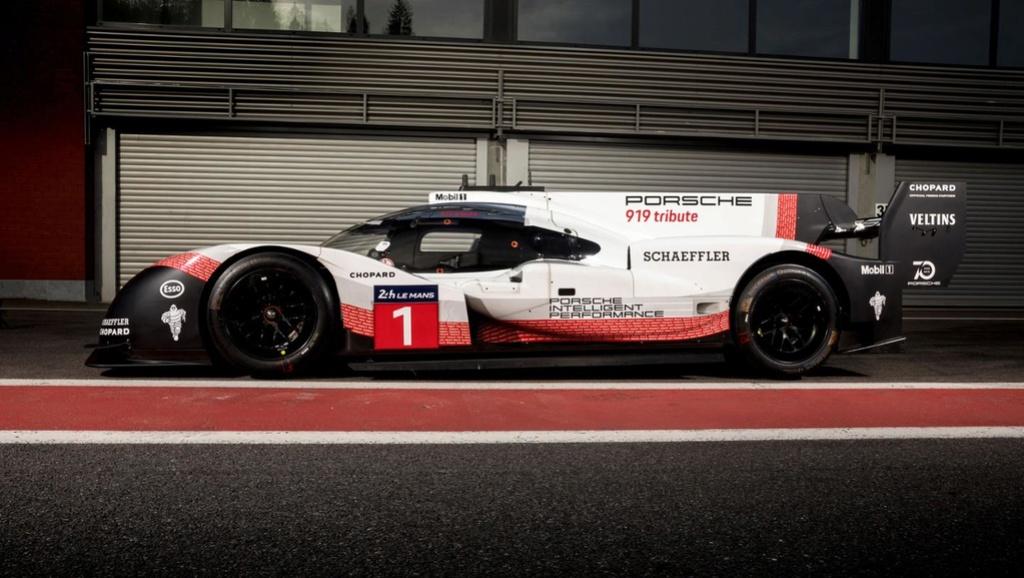 La Porsche 919 Hybrid fait tomber le record du tour à Spa 30629610