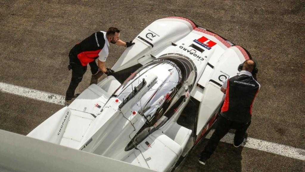 La Porsche 919 Hybrid fait tomber le record du tour à Spa 30629811