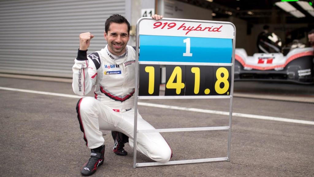 La Porsche 919 Hybrid fait tomber le record du tour à Spa 30652510