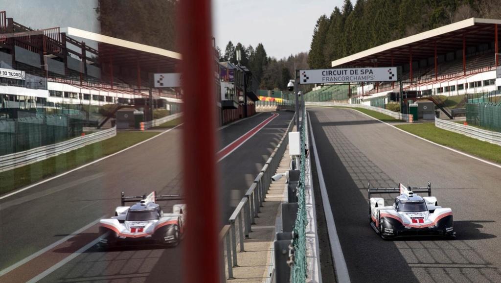 La Porsche 919 Hybrid fait tomber le record du tour à Spa 30709510