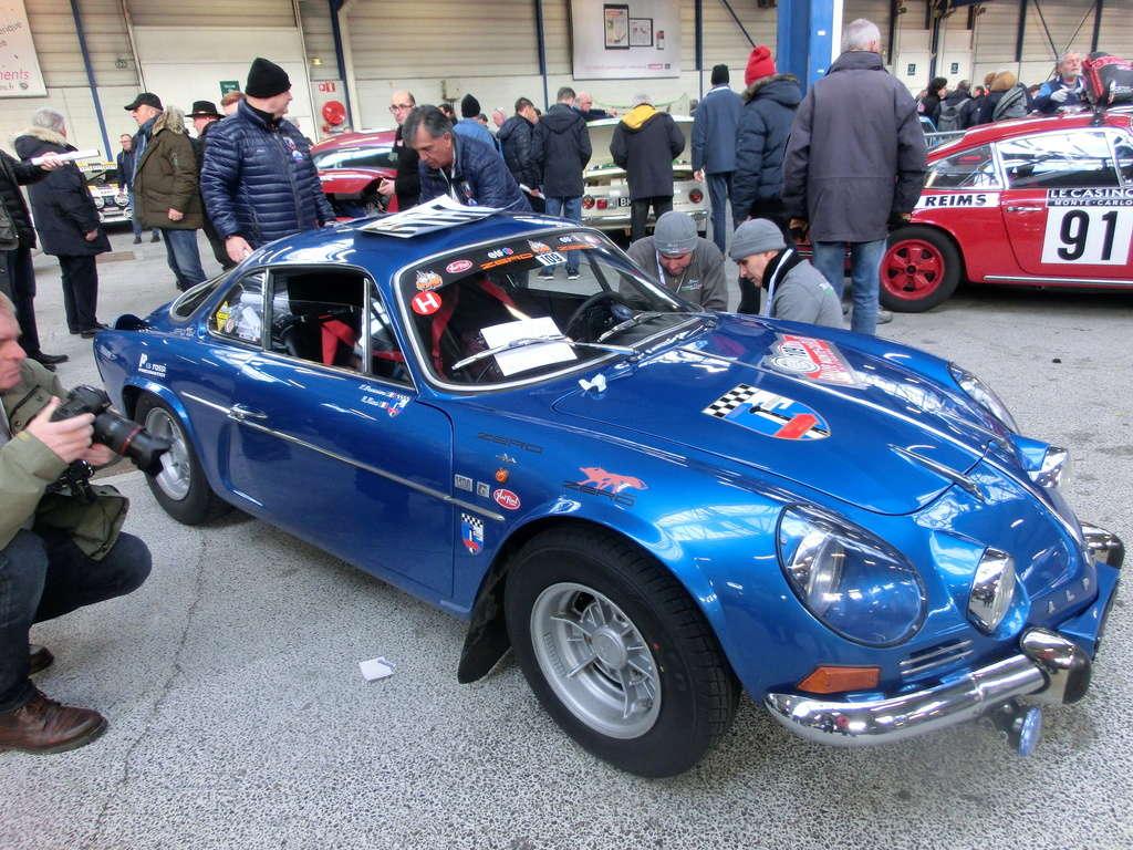 Départ du Monte Carlo Historique Cimg6621