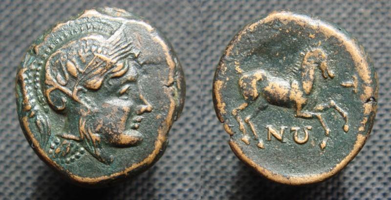 Bronze grec à identifier - Athéna-Ares cheval - Thessalie ? Bronze14