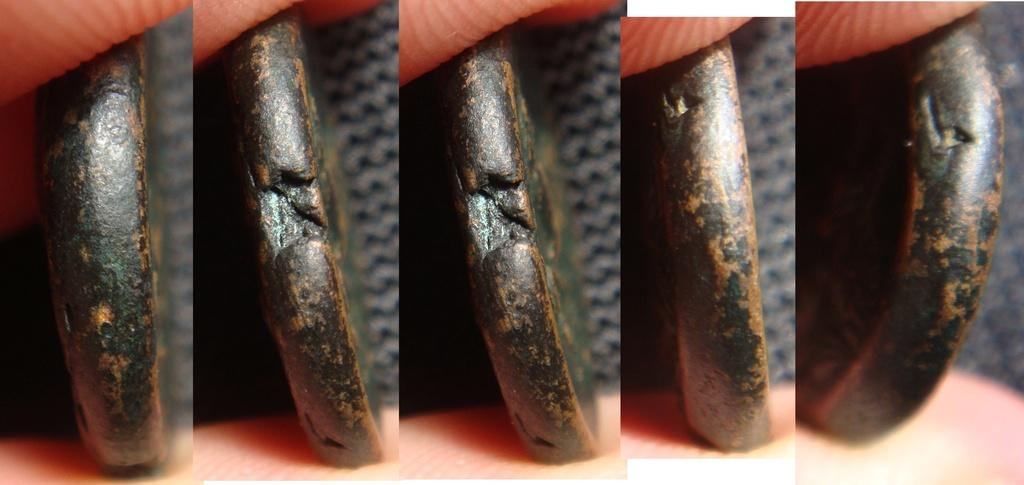 Bronze grec à identifier - Athéna-Ares cheval - Thessalie ? Bronze18