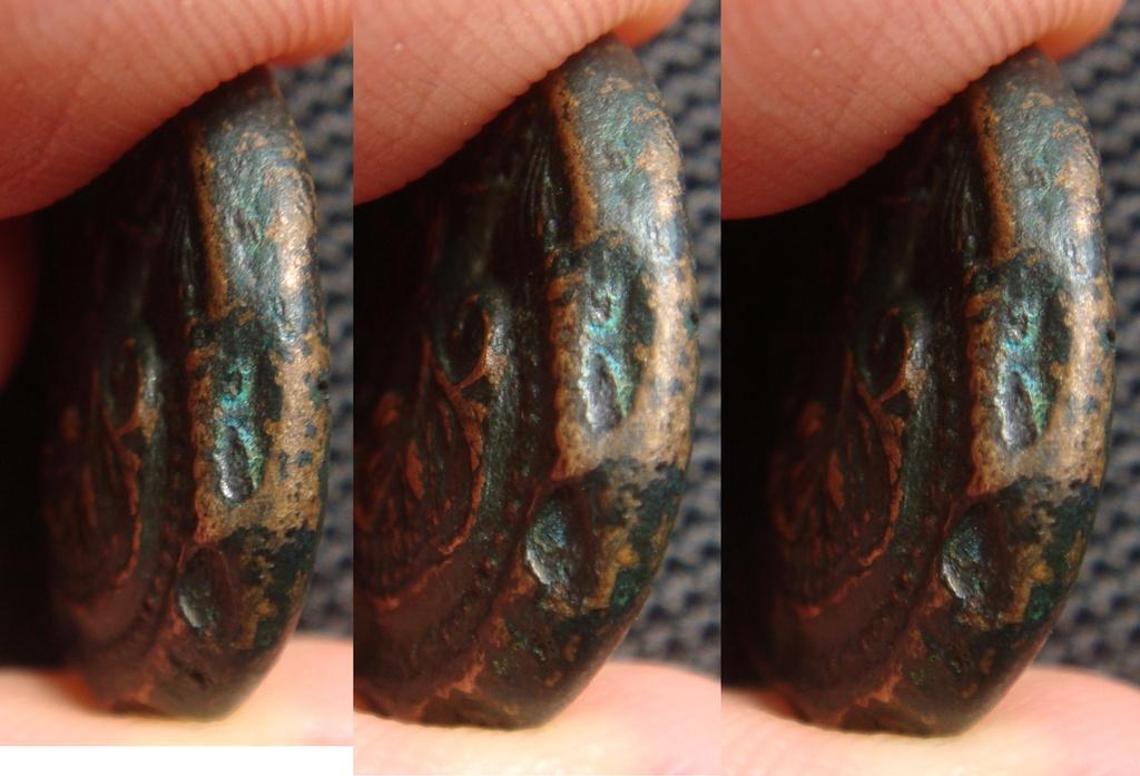 Bronze grec à identifier - Athéna-Ares cheval - Thessalie ? Bronze19