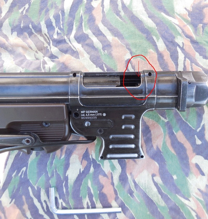 Cadence de tir MP40 Umarex C02 Bloc_c10