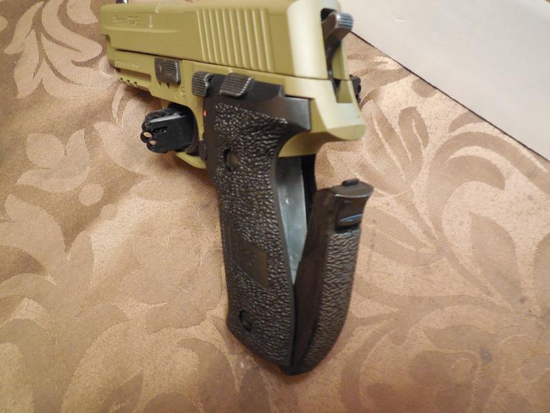 Le Sig Sauer P226 Blow Back plombs Dscn3015