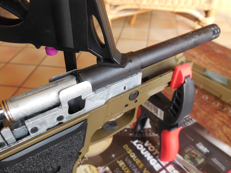 Le Sig Sauer P226 Blow Back plombs - Page 2 Dscn3019