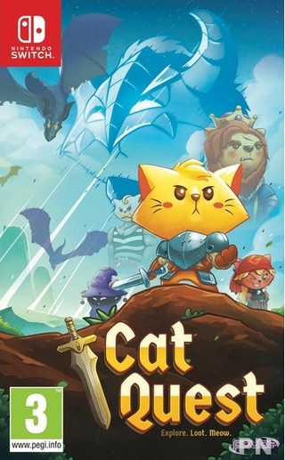 Nintendo Switch : The Good Set Cat_qu12