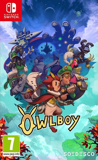Nintendo Switch : The Good Set Owlboy12