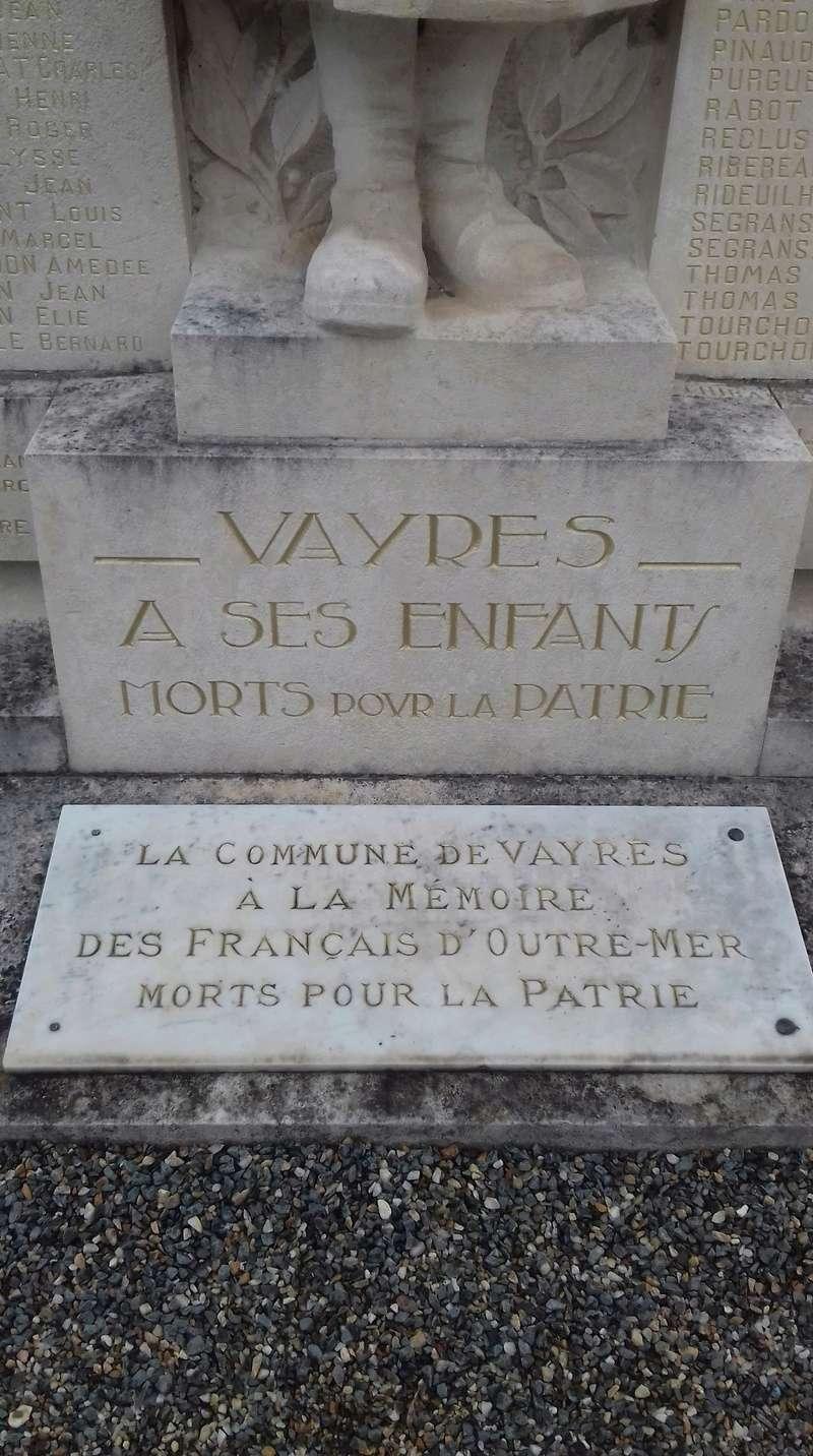 [ Histoires et histoire ] Monuments aux morts originaux Français Tome 2 - Page 6 20180410