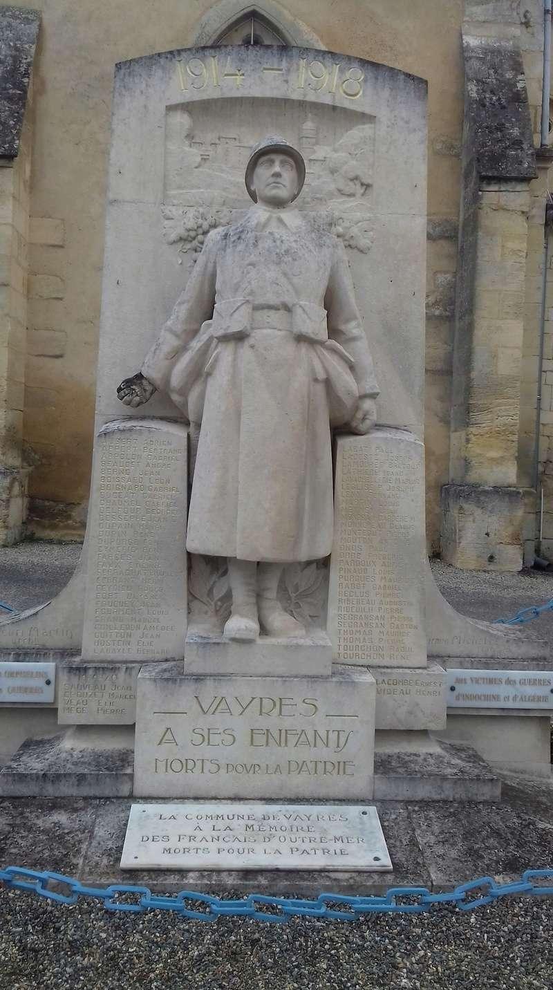 [ Histoires et histoire ] Monuments aux morts originaux Français Tome 2 - Page 6 20180411