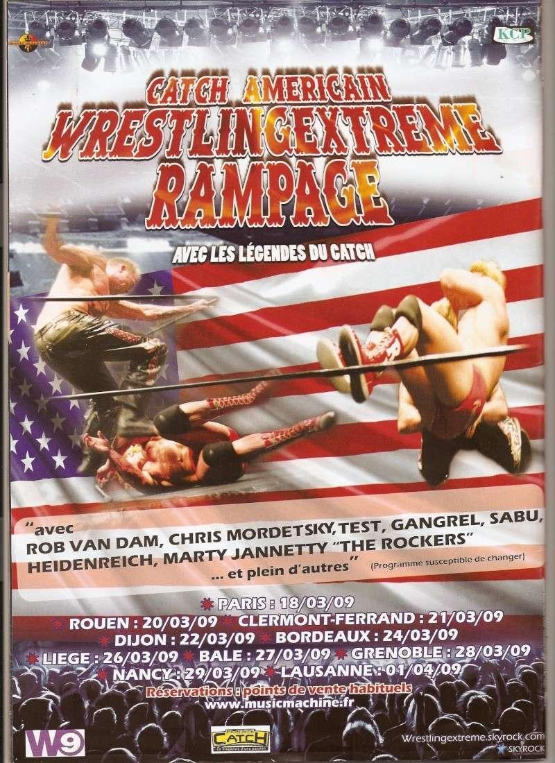 Wrestling Extreme Rampage tour 2009 Numari10
