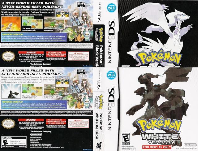 BLACK AND WHITE; Salen el 6 de Marzo en America!!! Pokemo12
