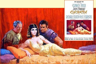 Cléopâtre, de Mankiewicz (1963).  Cleopa11