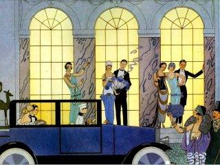 Gatsby le Magnifique de Francis Scott Fitzgerald, chapitres 1 à 3. Les_an10