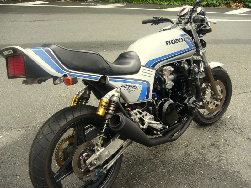 LA CLASSE POUR CETTE HONDA CB 750F Hondac11