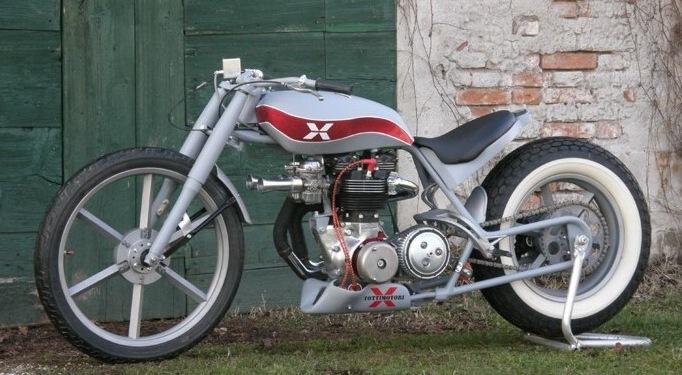 SUPERBE CREATION DE ROBERTOTOTTI: TRIUMPH T120 HOT ROD RACER Pictu180