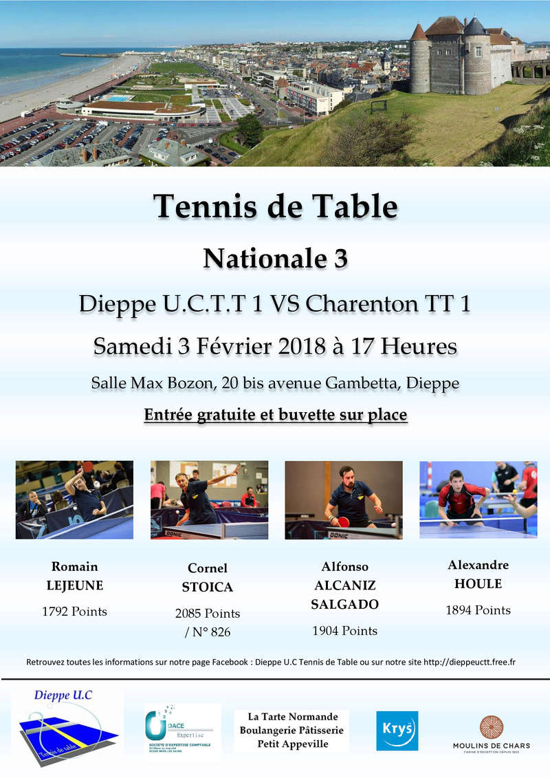 Forum du club Dieppe U.C.T.T.