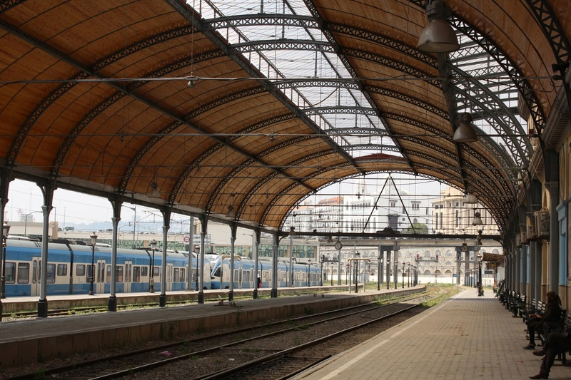 La gare d'Alger la Blanche   Img_2410