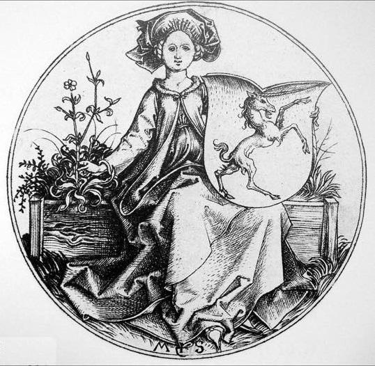 représentations de manteau mantel féminin et ou capes 23376411