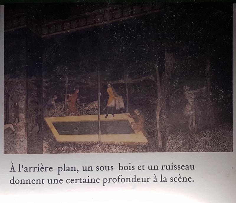 La chambre du cerf du palais des papes d'Avignon Cartel10