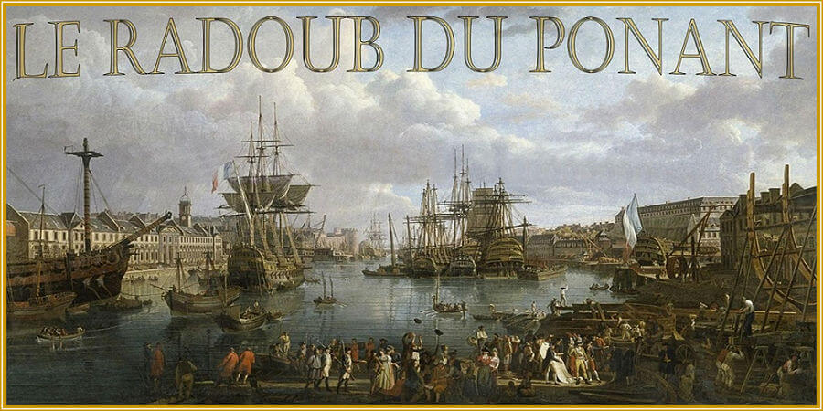 Modélisme Naval Le RADOUB du PONANT