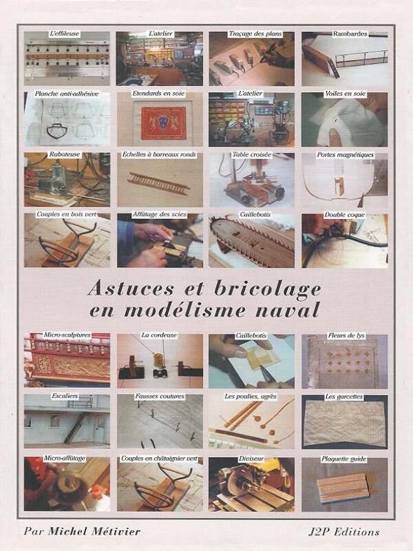 Astuces & Bricolage en Modélisme Naval - Michel Métivier  L021a10