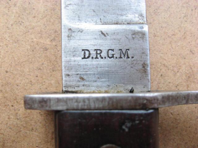 baïonnette (gras) 1874 pour fusil  Gewehr 1888 ?????? Drgm_016