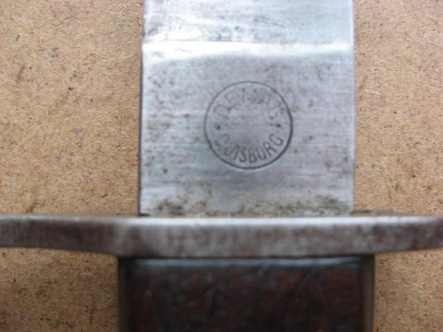 baïonnette (gras) 1874 pour fusil  Gewehr 1888 ?????? Drgm_017