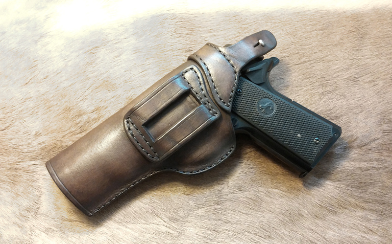 Les différents holsters pour 1911- NGcuirs Holste10