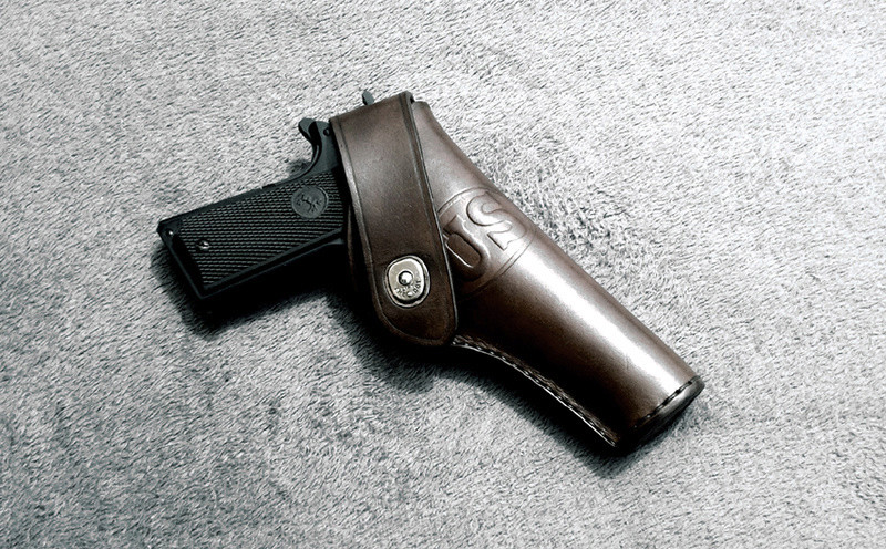 Les différents holsters pour 1911- NGcuirs Holste15