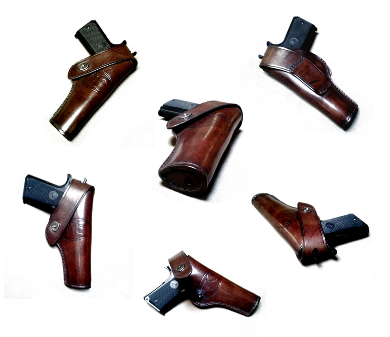 Les différents holsters pour 1911- NGcuirs Holste16