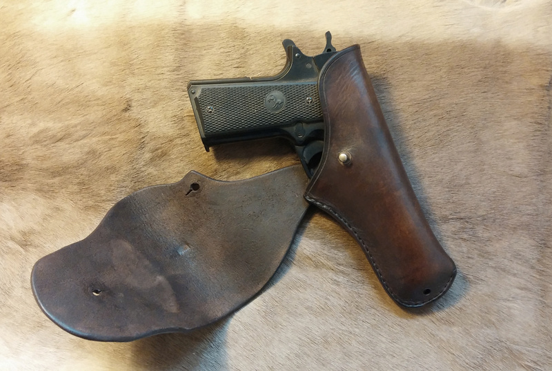 Les différents holsters pour 1911- NGcuirs Holste21