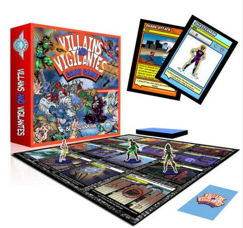 VILLAINS & VIGILANTES CARD GAMES Captur12