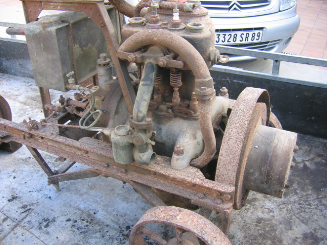 RENAULT - Moteur Renault 2 cylindre Type 93 09010