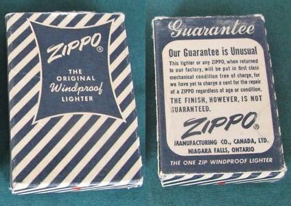 boite inconnue [dossier résolu : c'est PARK Lighter] 1949-c10