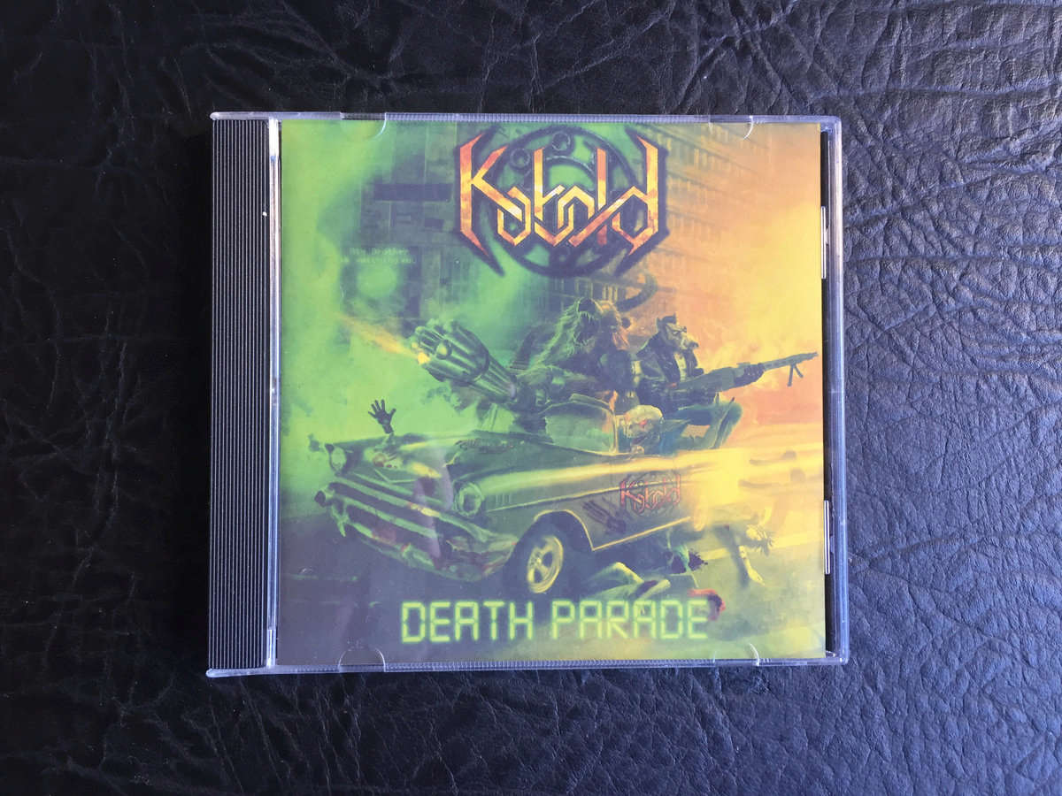 KOBOLD Death Parade (2017) Speed Metal / Thrash Metal SERBIE 00114510