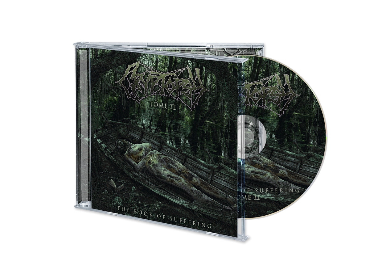 CRYPTOPSY The Book Of Suffering - Tome II (2018) E.P Death Metal CANADA 00141410