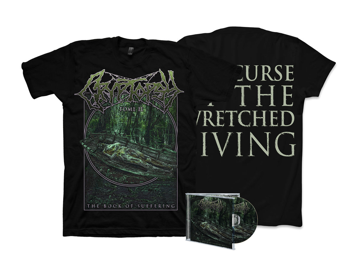 CRYPTOPSY The Book Of Suffering - Tome II (2018) E.P Death Metal CANADA 00141411