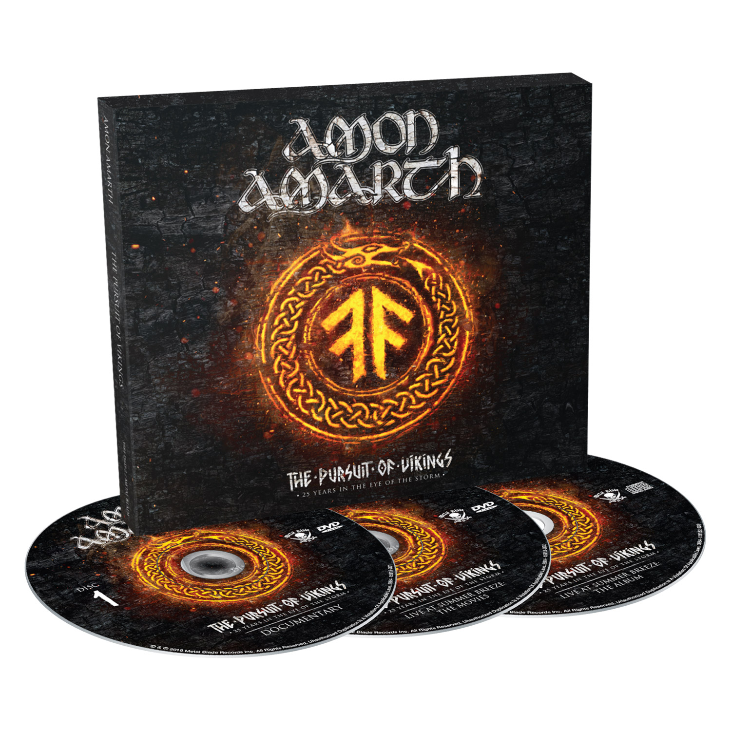 AMON AMARTH The Pursuit Of Vikings: 25 Years In The Eye Of The Storm (2018) Metal VIKING !  00f62910