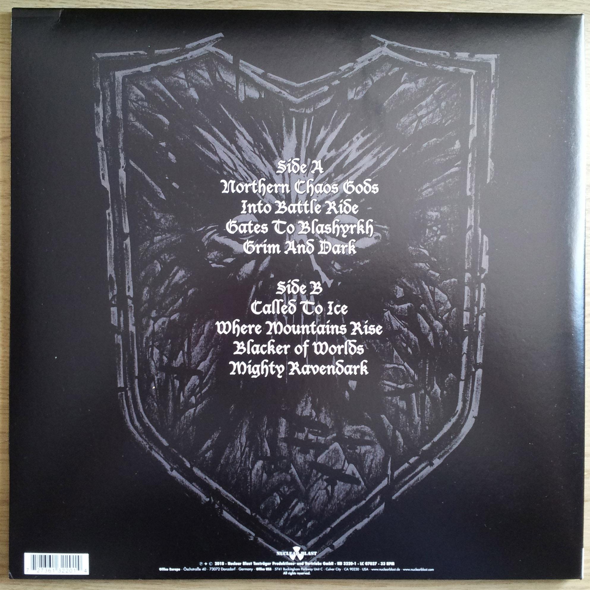 IMMORTAL Northern Chaos Gods (2018) Black Metal Norvège 0310