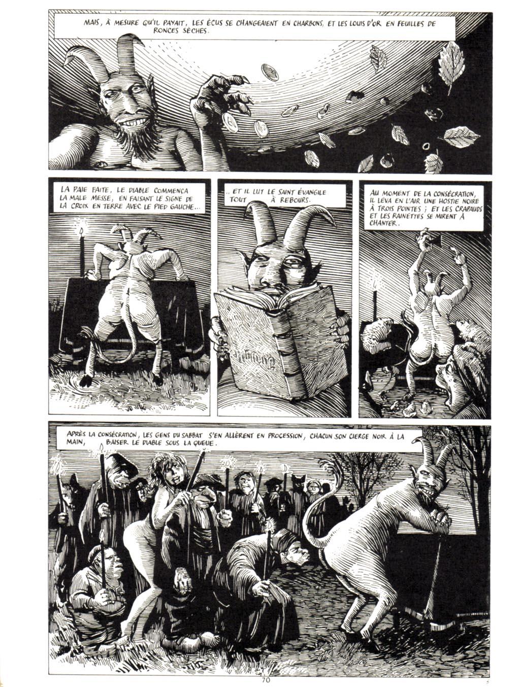 METAL HURLANT : le dossier Satan (Archive) 07010