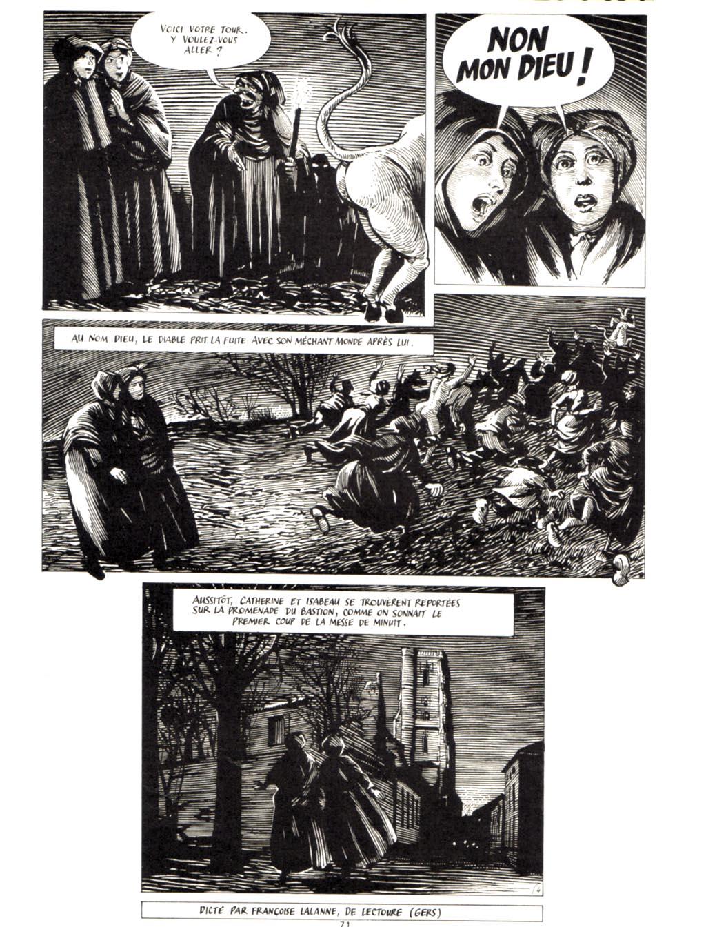 METAL HURLANT : le dossier Satan (Archive) 07110