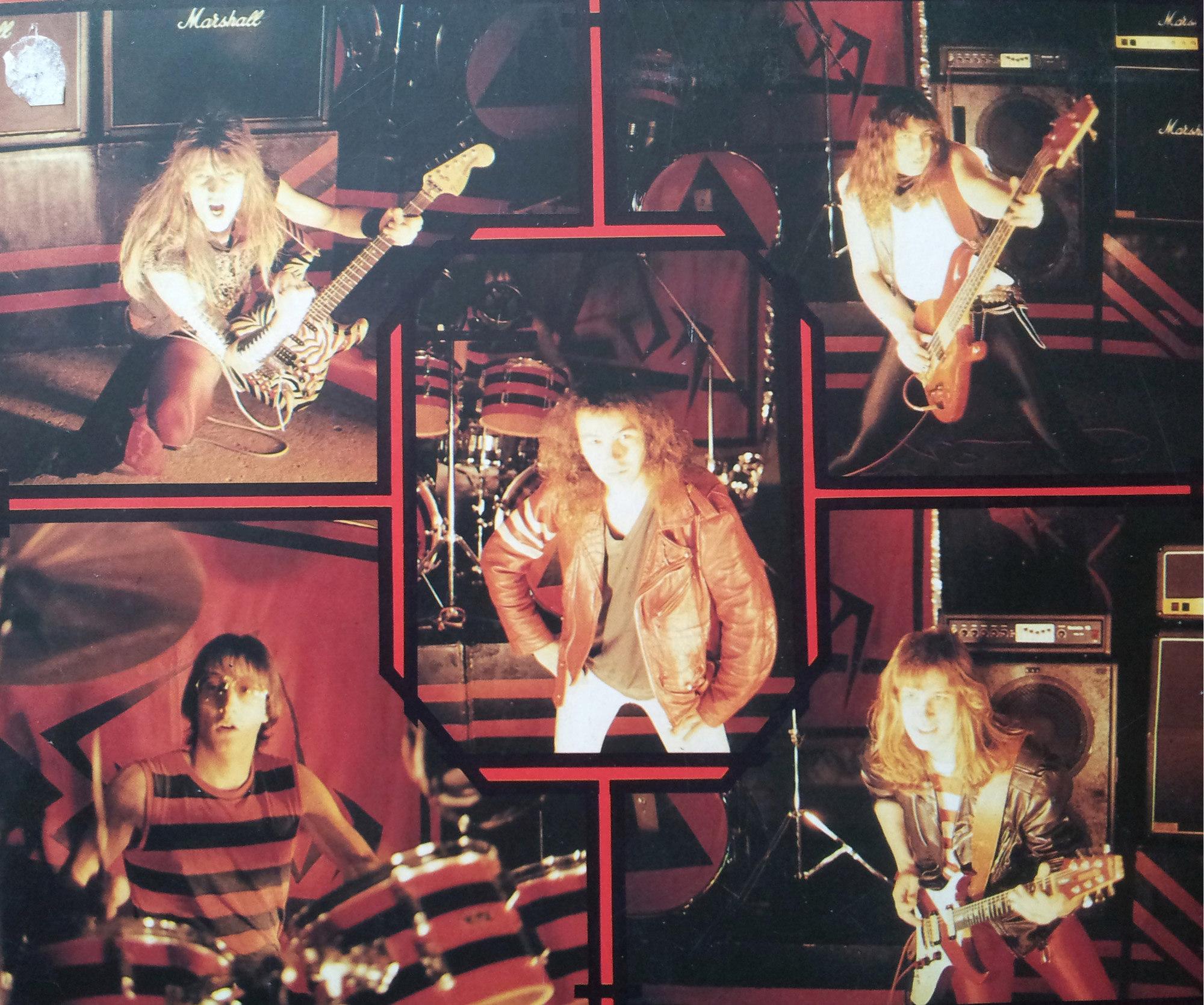 EPSYLON 1er album (1985) le vinyle vu de plus près ...   0810