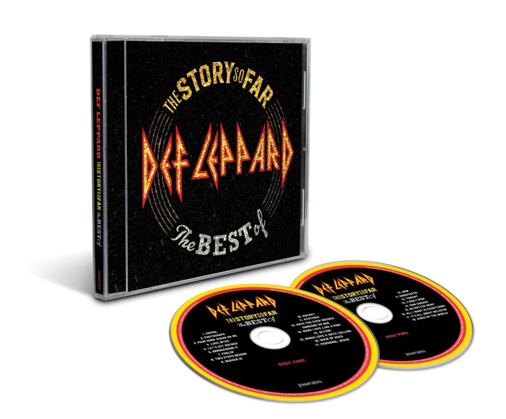 DEF LEPPARD The Story So Far – The Best Of ... (2018) Hard Rock ANGLETERRE 1-3310