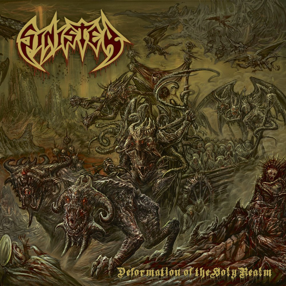 SINISTER Deformation of the Holy Realm (2020) Death Metal Hollande 1000x129